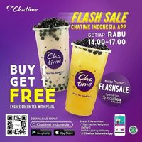 Chatime Flash Sale Buy 1 Get 1 Free Every Wednesday