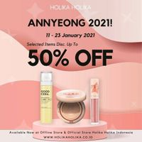 Holika Holika Discount Up To 50% Off On Selected Items