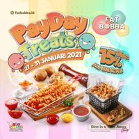 Fat Bobba Payday Treats Discount 15% Off On All Items