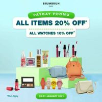 Brun Brun Payday Promo All Items Discount Up To 20% Off