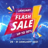 Planet Surf January Flash Sale Up To 20% Off