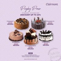 Clairmont Patisserie Payday Party Discount Up To 23%