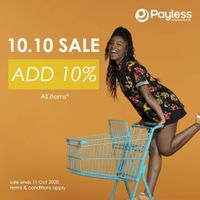 Payless Promo 10.10 Sale - Additional 10% On All Items