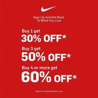 Nike Promo Discount Up to 60%