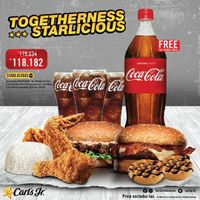 Carls Jr Promo Togetherness Starlicious Only For Rp. 118.182