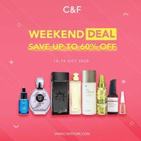C&F Weekend Deal - Save Up To 60% Off