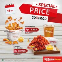 Richeese Promo GoFood Special Price