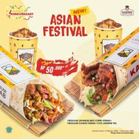 Kabobs Promo Asian Festival Package