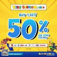 Kidz Station Buy 1 Get Discount 50% Off On 2nd Items