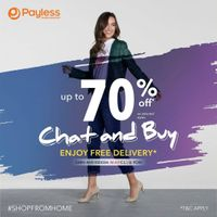 Payless Promo Discount Up To 70% Off + Free Delivery For MAPClub Member
