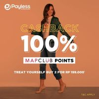 Payless Cashback 100% With Mapclub Points