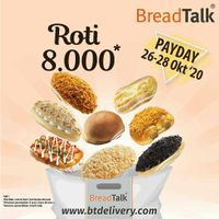 Breadtalk Promo Payday Roti Rp. 8.000