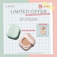 Metro Department Store Buy 1 Get 1 Free Leneige Cushion