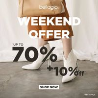 Bellagio Weekend Offer Up To 70% + 10% Off