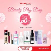 Transmart Beauty Payday - Discount Up To 50% Off on Selected Beauty Products