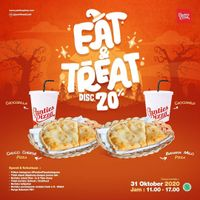 Panties Pizza Promo Eat & Treat - Discount 20% Off