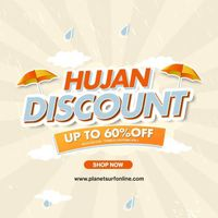 Planet Surf Promo Hujan Discount Up To 60%