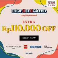 Mapemall Promo Shop11st11cated Extra 110k off