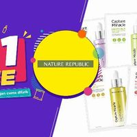 Nature Republic Promo OVO Buy 1 Get 1