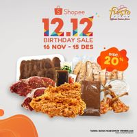 Fiesta Steak 12.12 Birthday Sale - Discount 20% Off On Shopee