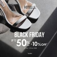 Rotelli Black Friday Sale Up To 50% Off + 10% Off