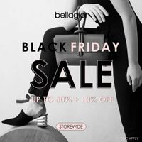 Bellagio Black Friday Sale Up To 50% Off + 10% Off