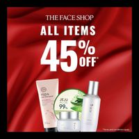 The Face Shop Discount 45% Off On All Items