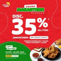 Let's Go Chicken Discount 35% Off On GrabFood