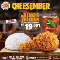 Burger King Promo King's Chicken Cheesember