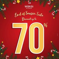 Wakai End Of Season Sale Up To 70% Off