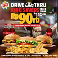 Burger King Promo Drive Thru King Savers