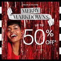 Sephora Promo Merry Marckdowns Discount Up To 50% Off