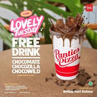 Panties Pizza Lovely Tuesday Free Drink