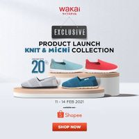 Wakai Disc. Up To 20% Off On Knit & Michi Collection