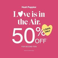 Hush Puppies Season Of Love Discount 50% Off On 2nd Item