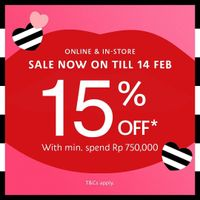 Sephora Valentine's Day Sale Discount 15% Off