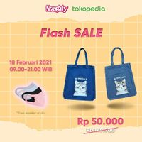 Naughty Flash Sale Up To 70% Off For Bag Products On Tokopedia