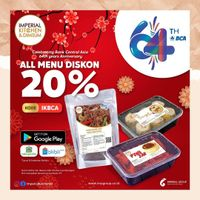 Imperial Kitchen & Dimsum Promo HUT BCA Diskon 20% All Menu