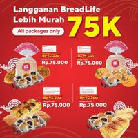 Breadlife Promo All Packages Only For Rp. 75.000