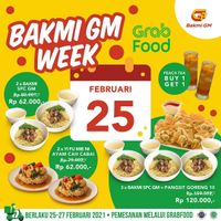 Bakmi GM Week With GrabFood