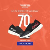 Wakai Discount Up To 70% Off On Shopee