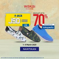 Wakai Discount Up To 70% Off On Tokopedia