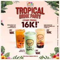 Fat Bubble Tropical Drink Party Start From Rp. 16.000
