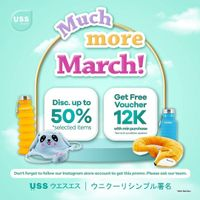 Uss Promo Much More March