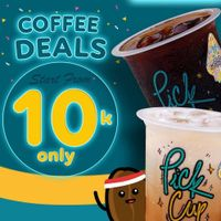 Pick Cup Coffee Deals Only For Rp. 10.000