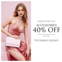 Victoria Secret Discount 40% Off On Accessories