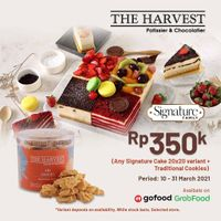 The Harvest Promo Signature Family Only For Rp. 350.000