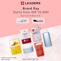 C&F Promo Brand Day Leaders Special Value Start From IDR. 10.000