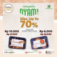 Imperial Kitchen Discount Up To 70% Off On Tokopedia