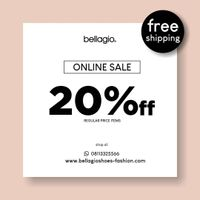 Bellagio Promo Online Sale, Get Discount 20% Off For Regular Price Items + Free Shipping
